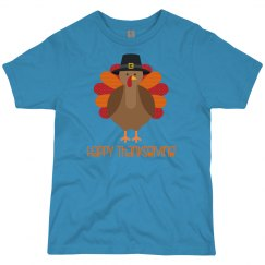 Happy Thanksgiving Turkey Youth Shirt