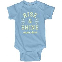 Rise & Shine Baby Onesie