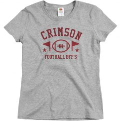 Crimson And Grey BFF's Tee