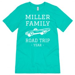 Custom Family Road Trip Tees