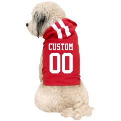 Custom Name Number Dog Sport Outfit