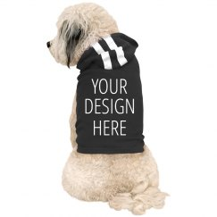 Design Your Dog Hoodie Add Text & Art