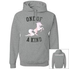 One of a kind hoodie