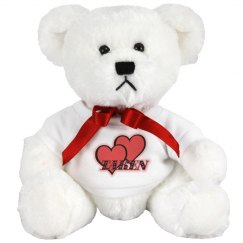 Red Hearts Teddy Bear