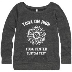 Custom Yoga Studio Sweaters