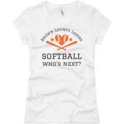 Softball Pitcher Tee