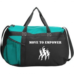 MOVE TO EMPOWER DUFFLE BAG