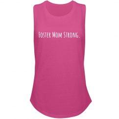Foster Mom Strong festival tank