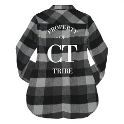 Property of CT Tribe Flannel (womens)