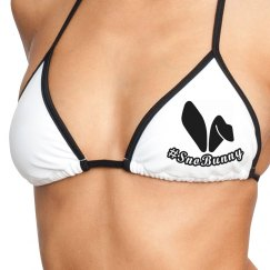 #SnoBunny Tri Top Bikini