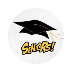 Seniors Pin Badge