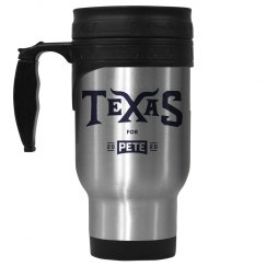 Texas for Pete - Stainless Steel Mug