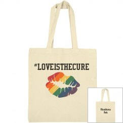 #loveisthecure bag
