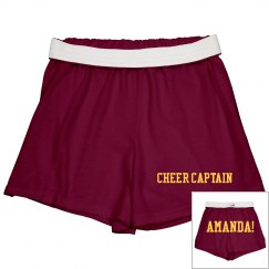 Cheer Captain Amanda