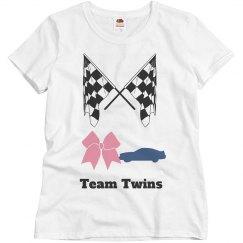 Kiki's gender reveal shirt