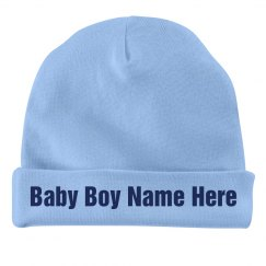 Custom Baby Boy Cap