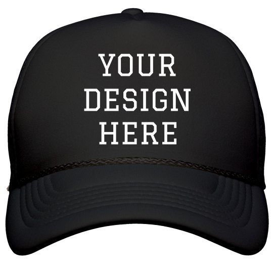 d0964b41740 Design A Baseball Sports Cap Film and Foil Solid Color Snapback Trucker Hat