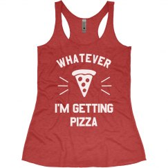 Funny Workout Pizza Tank