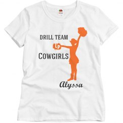 Drill Team practice shirt