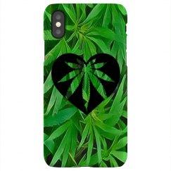 Cannabis iPhone X case