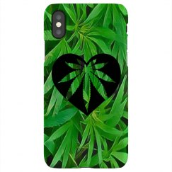 Cannabis iPhone X case