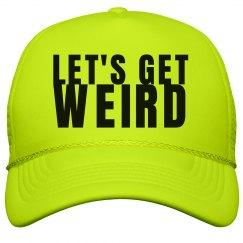 Get Weird Neon Hat