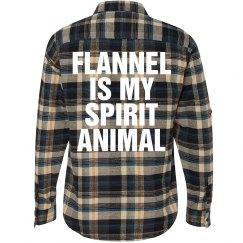 Flannel Spirit Animal