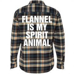Flannel Spirit Animal