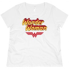 Wonder Woman Plus Size Pullover
