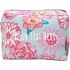 Custom Text Trendy Cosmetic Case