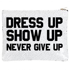 Custom Quote Dress Up Bag