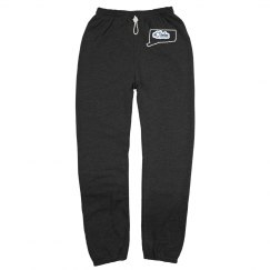 #CTtribe  STATE Sweatpants UConn Blue (unisex)