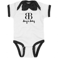 Boujie Baby Rib Bow Tie Bodysuit