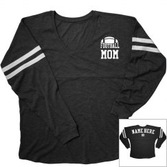 Football Mom Custom Jersey