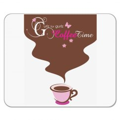 Coffee-time mouse pad