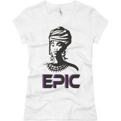 EPIC African Woman Jersey Tee