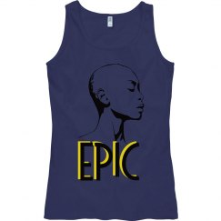 EPIC Bald African American Woman Semi-Fitted Tank