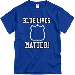 GSC Blue Lives Matter Tee