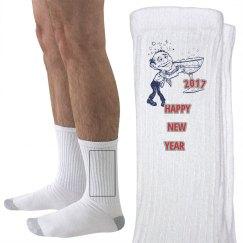 HAPPY NEW YEAR UNISEX SOCKS