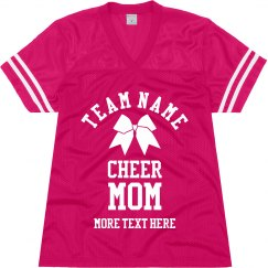 Custom Cheer Mom Jersey