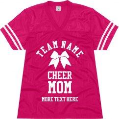 Custom Cheer Mom Jersey