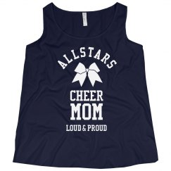 Custom Team Cheer Mom Tank
