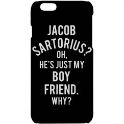 Jacob Sartorius Is My Boyfriend iPhone Case