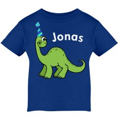 Green Birthday Dinosaur
