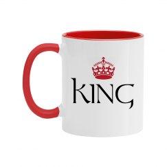 King Couple Color Coffee Mug