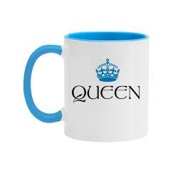 Queen Couple Color Coffee Mug