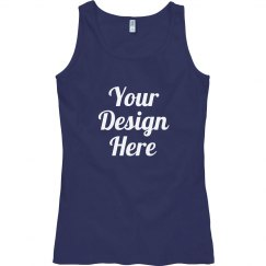 Custom Misses Semi-fitted Tank Top