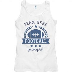 Team & Mascot Football Emblem Custom Tank