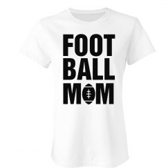 Simple Football Mom Shirt