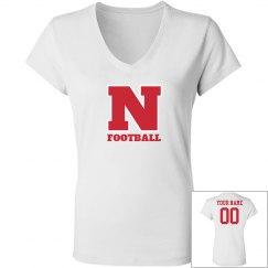 Custom Nebraska football shirt